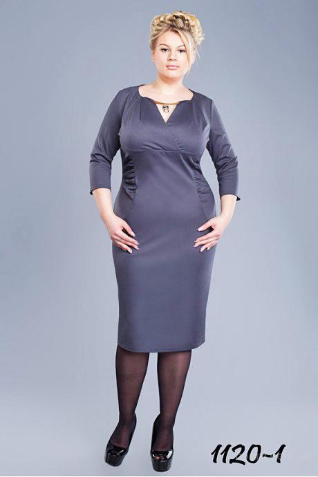 Стильная одежда для женщин приятных пышных форм