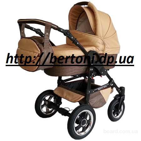Детская коляска 2 в 1 viki gold saturn лен