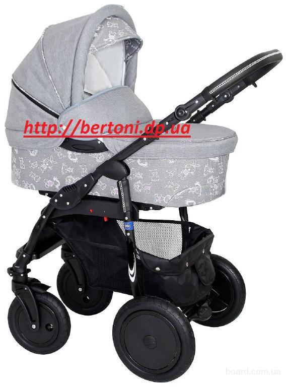 Детская универсальная коляска 2в 1 или 3 в 1 лабона ягуар лен
