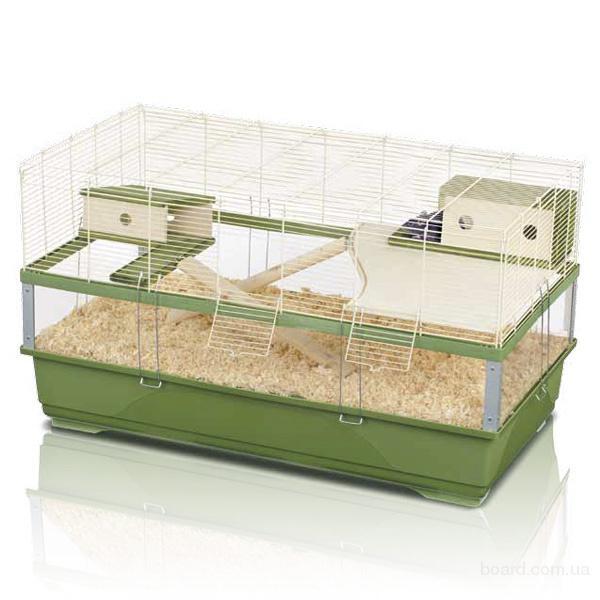 Imac Плекси 100 Вуд (Plexy 100 WOOD) клетка для крыс, пластик
