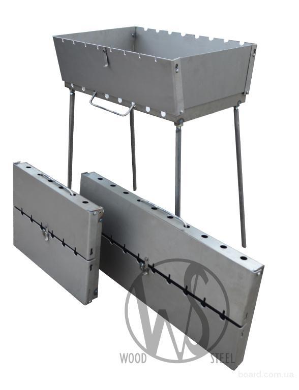 Производство мангалов разной толщины от 0,8 до 2,0 мм.