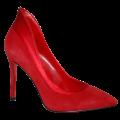 Элегантные красные туфли