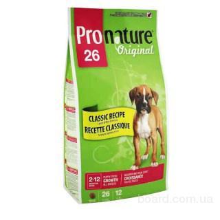 Pronature (Пронатюр) Original Puppy - корм для щенков (от 2 до 12 месяцев) всех пород (ягненок/рис)