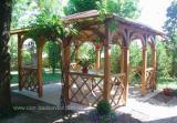 Деревянные беседки для дома, дачи, сада в Харькове.