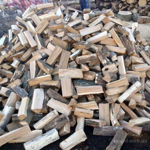 Колотые дрова в Киеве