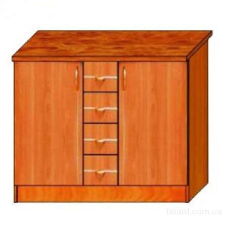 Тумба Стол с выдвижными ящиками для кухни