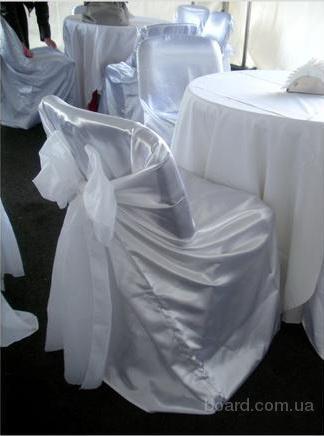 текстиль на свадьбу, прокат банкетного текстиля, чехлы, юбки, скатерти