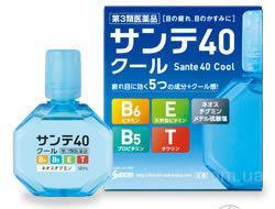 Sante 40 COOL Возрастные витаминизированные японские с ментолом