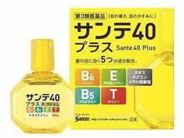 Sante 40 Plus Возрастные глазные капли, витаминизированные (Япония)