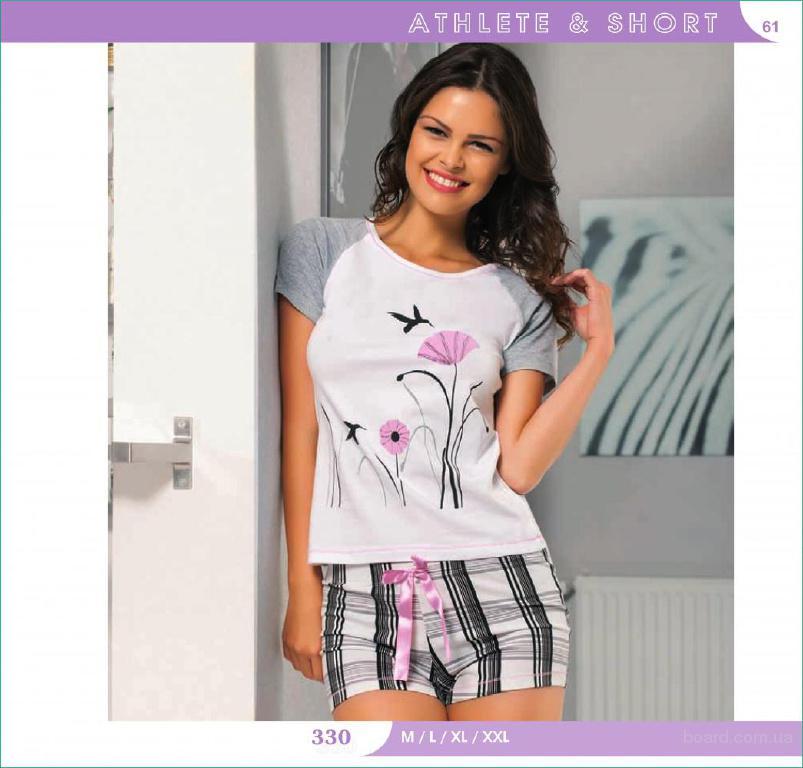 Женские летние пижамы и одежда для дома ТМ Maranda Турция