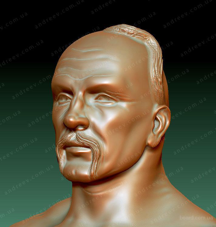 3Д-портрет. 3D-скульптура