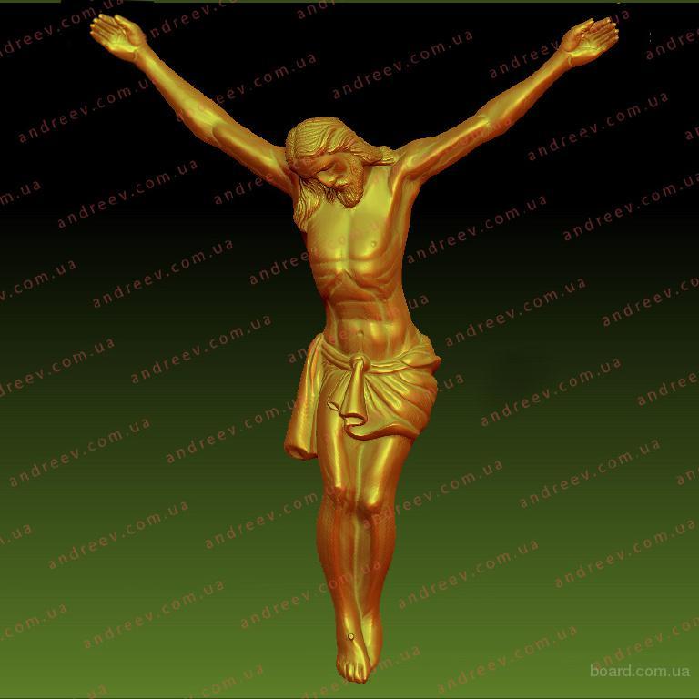 3D модель фигуры Христа для Распятия