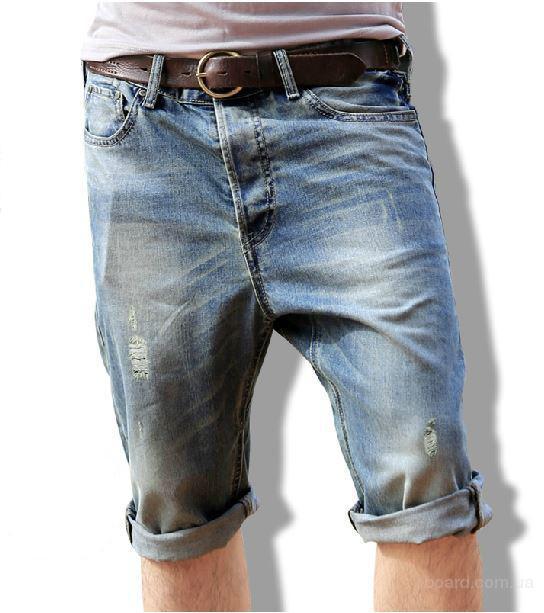 Как сделать из мужских джинсов бриджи своими руками