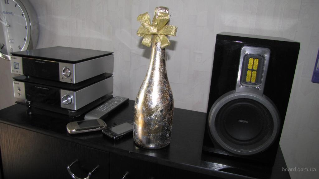 декор шампанского позолотой