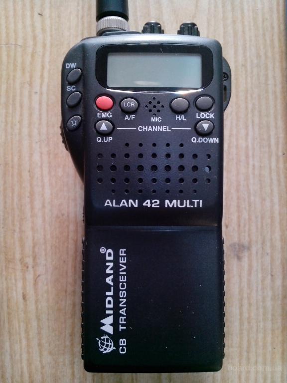 Рация, радиостаниця Midland Alan 42 multi, 12 месяцев гар.