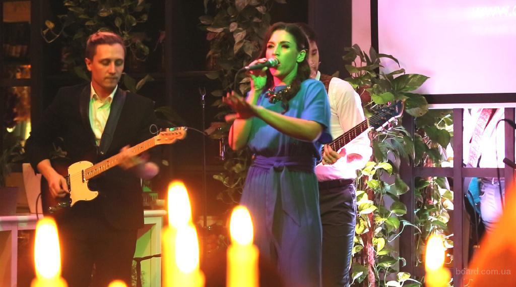Стильная живая музыка от группы Cover Band Moscow на мероприятие