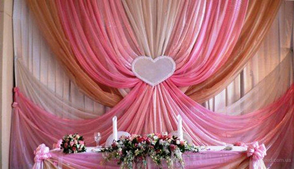 Фон молодых, текстиль, оформление стола молодых, букет невесты, арка на свадьбу, флористика, оформление свадьбы, ширма, чехлы на стулья