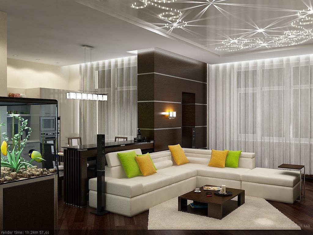 Дизайн интерьера трехкомнатной квартиры фото