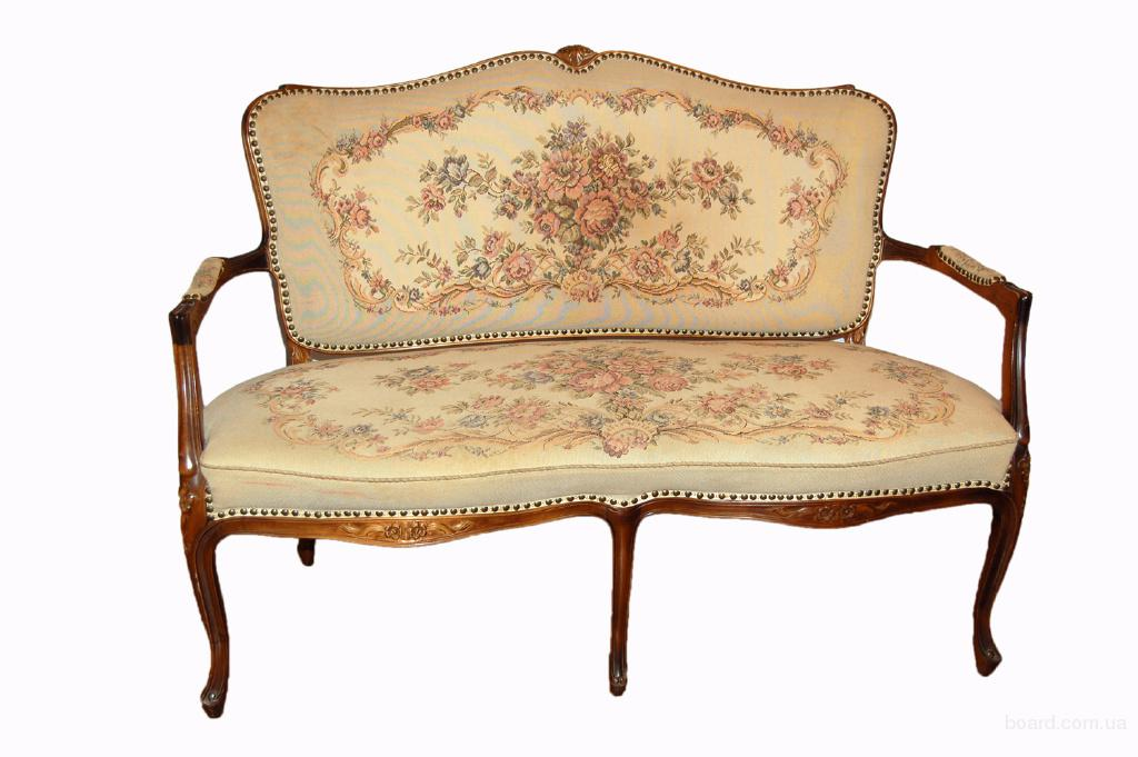 старинная мебель софа - диван в гостинную (код 1166)