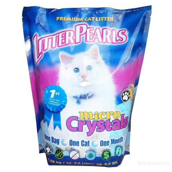 Litter Pearls Микро Кристаллс (MC) кварцевый наполнитель для кошачьих туалетов