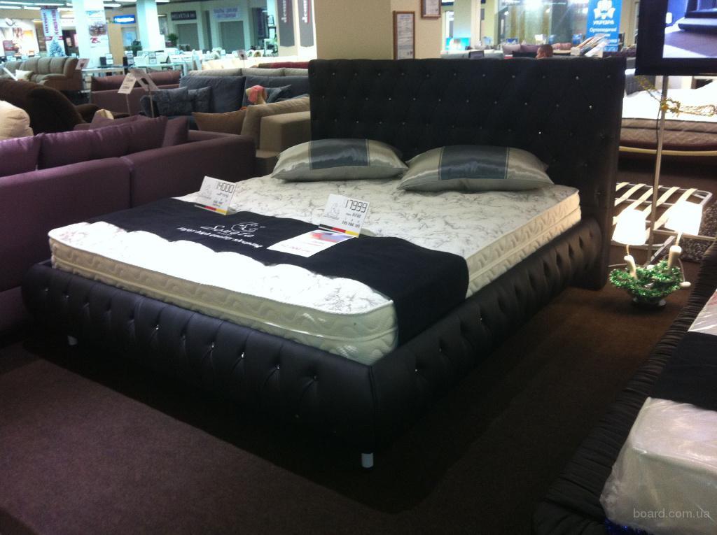 Кожаная мебель для спальной комнаты