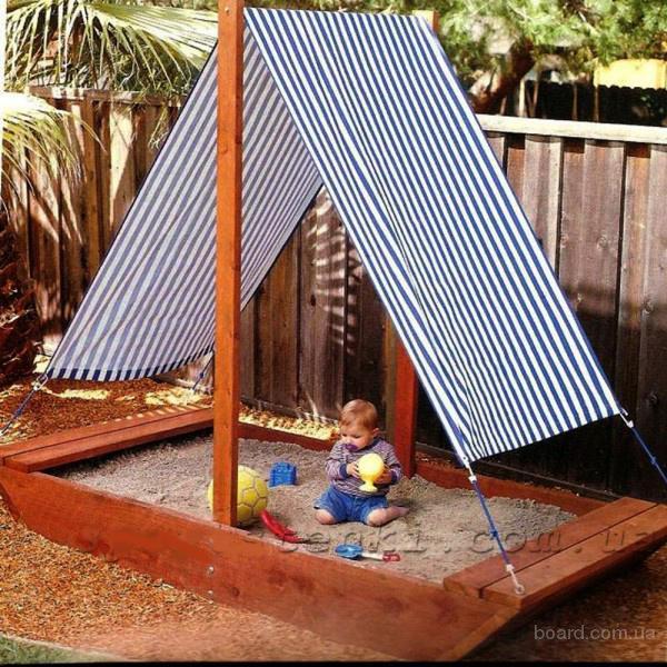 Песочница детская,песочница из дерева,деревянная песочница,для дачи и сада