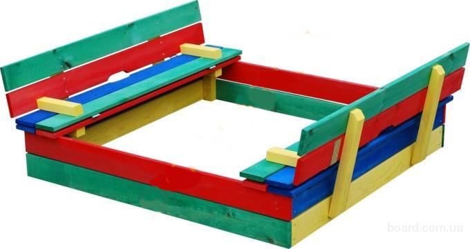 Песочница для детей,деревянные песочницы,песочница для сада