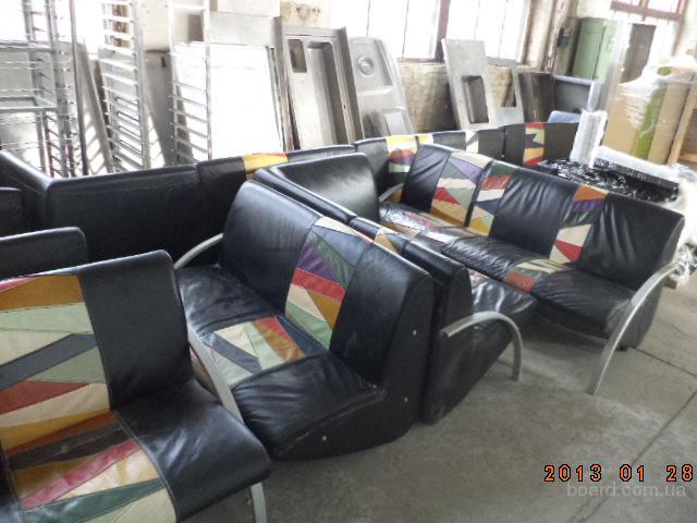 Мебель кожаная б/у