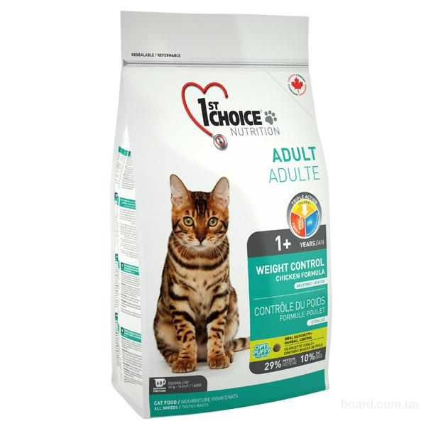 1st Choice (Фест Чойс) корм для кошек по низкой цене ...