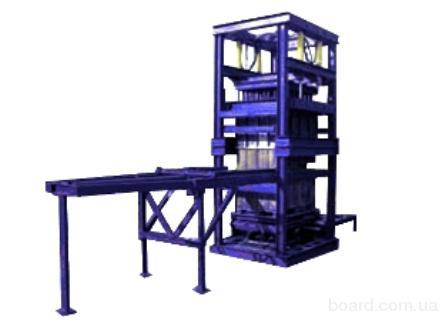 Автомат для разбора опалубки и укладки блоков