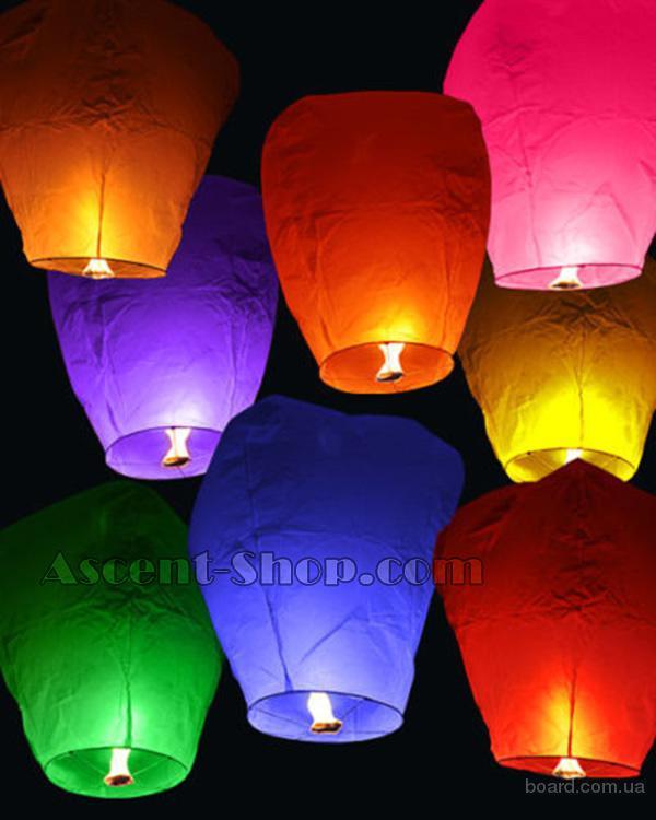 Китайские фонарики, небесные фонарики