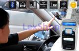 Bluetooth громкая связь + MP3 + FM трансмиттер + солнечная зарядка
