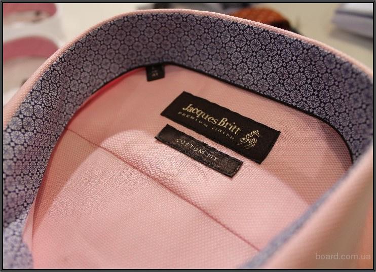 Выгодная цена! Наличие! Jacques Britt -  немецкие рубашки премиум класса в Киеве в Украине Kiev Ukraine.