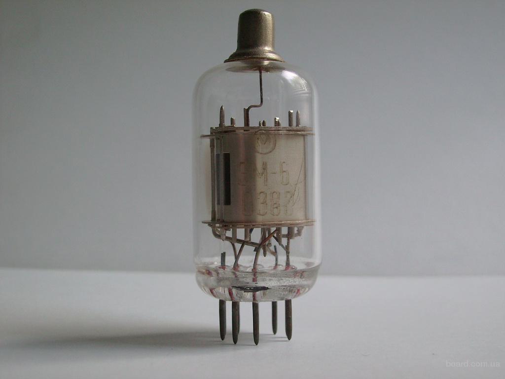 Лампа ЭМ-6 (электрометрическая)