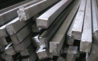 Квадрат сталь  20 , 35 , 40Х, 45   ГОСТ 1050-88, 2591-88, ТУ У 14-2-1231-99