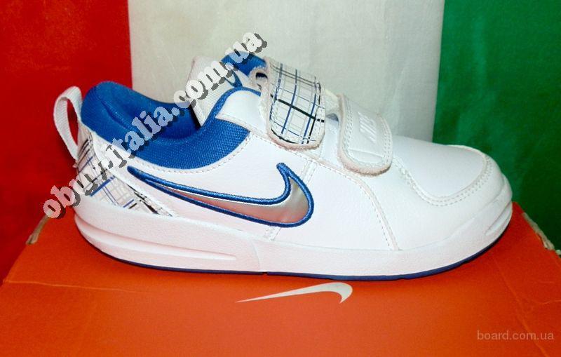 Детские кроссовки кожаные Nike Pico оригтнал