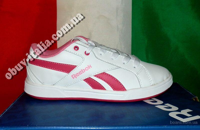 Кроссовки женские кожаные Reebok CL Solid Court оригинал из Италии