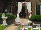 Свадебная арка прокат с искусственными и живыми цветами Киев Арка с искусственными цветами от 500 грн., аренда