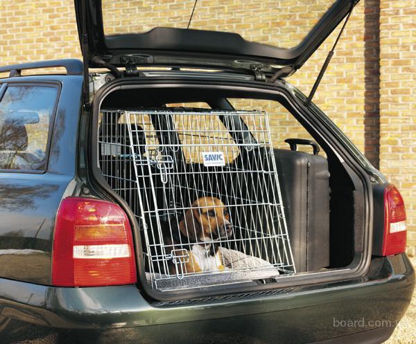 Savic Дог резиденс (Dog Residence) клетка в авто для собак