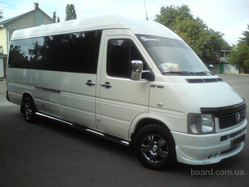 Заказ микроавтобуса Киев - Затока, Затока - Киев, трансфер на загородные базы отдыха.