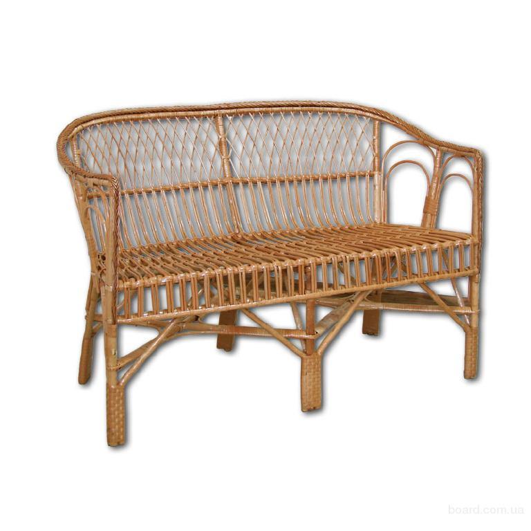 """Диван из лозы """"ДО - 7"""", Мебель из лозы, Плетеная мебель"""