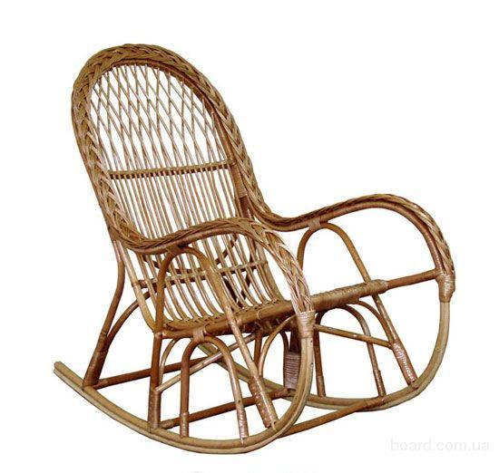 """Кресло-качалка из лозы """"КК-4/3"""", Кресло качалка из лозы, Кресло качалка"""