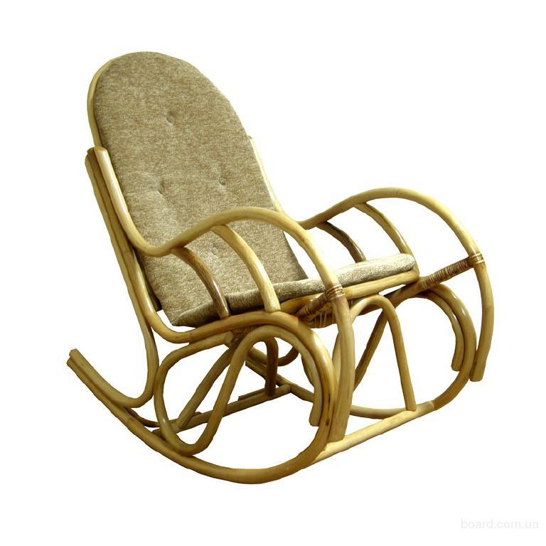 """Мебель из ротанга Кресло-качалка из ротанга """"Бриз"""", Кресло качалка,"""
