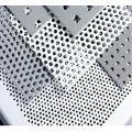 Перфолист, перфорированный лист алюминиевый, нержавеющий, оцинкованный, с черной стали