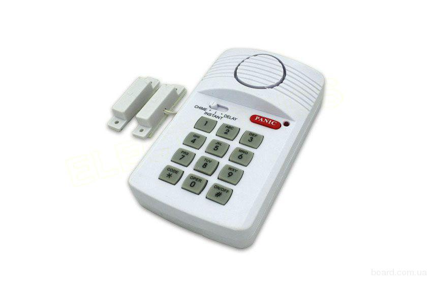 Система безпеки secure pro keypad alarm system