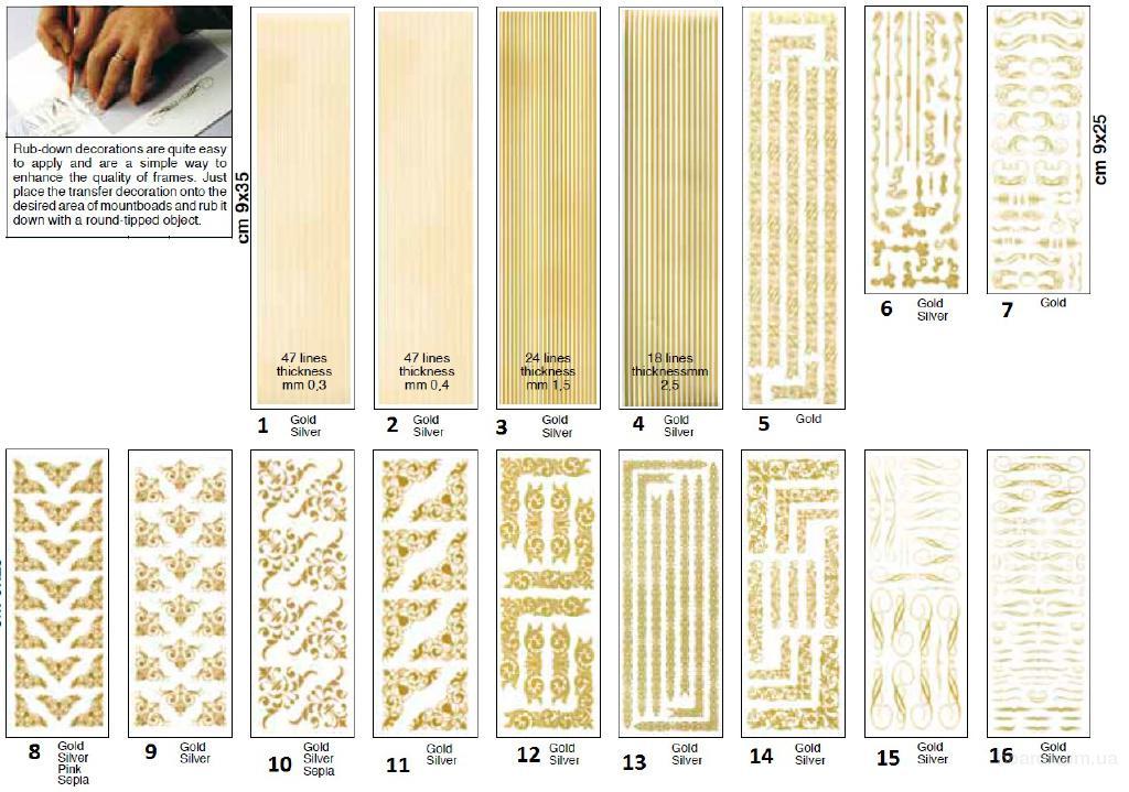 Декоры на паспарту,декоративные ленты, переводки,наклейки