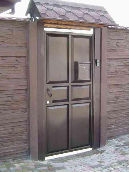 Купить ворота с калиткой в харькове рекомендуемый тип въездных ворот