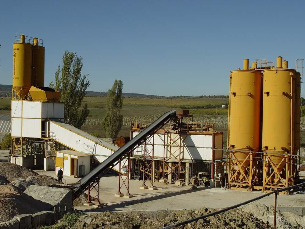 Бетонный завод (БСУ) СБ-145-4