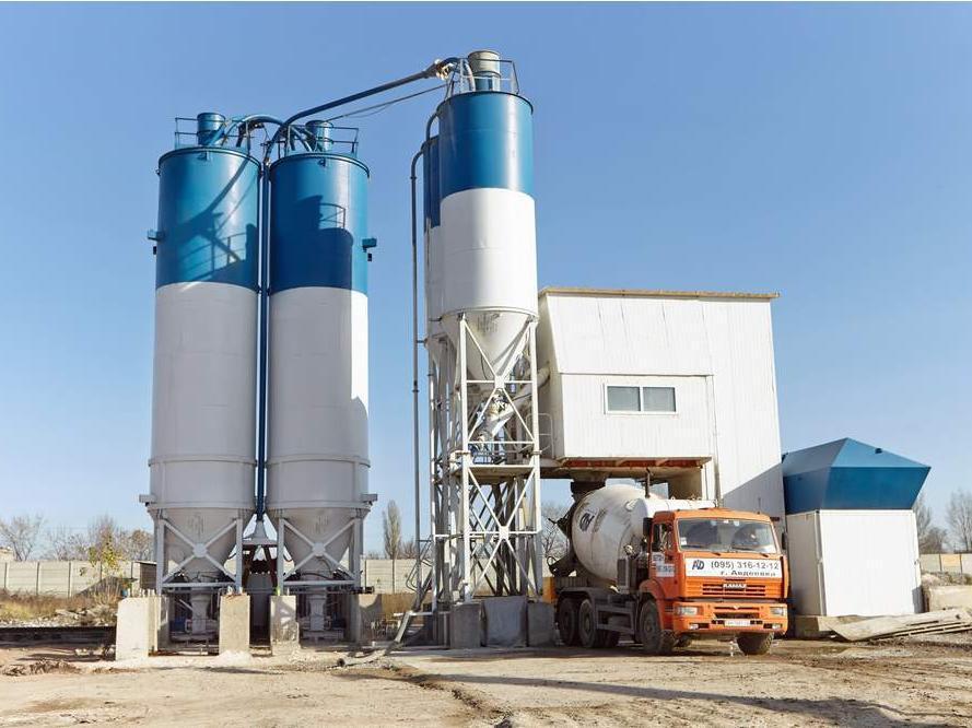 Бетонный завод (БСУ) СБ-241Б производите