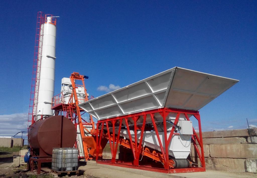 """Быстромонтируемый бетонный завод СБ-560 """"Granit-60(D)"""" производительность 60 м³/ч"""